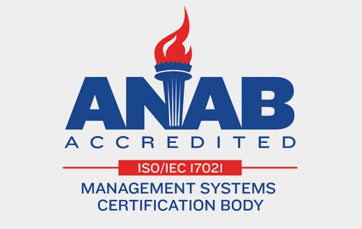 ANAB (USA, member IAF)
